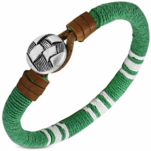 "Armbånd ""Green Dark Beach"""