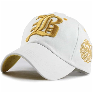 FLB baseball cap white/gold