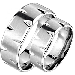 """Titanium"" Design-ring."