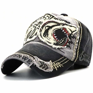 Sharks Hip Baseball cap Black