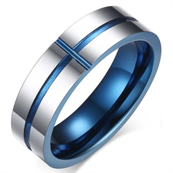 """H3"" Tungsten Ring 6mm"
