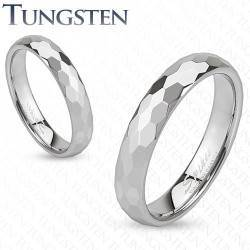 Tungsten ring 4mm